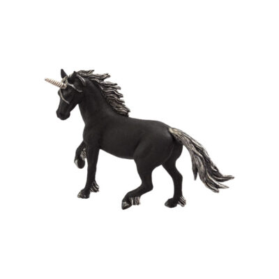 اسب تکشاخ تیره