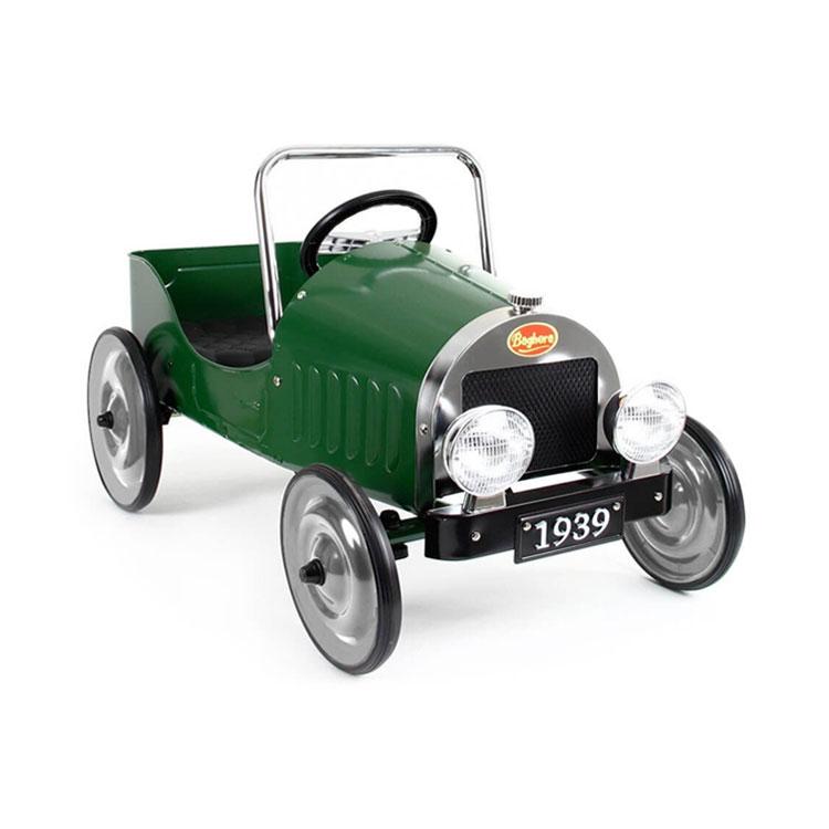 ماشین پایی فلزی کودک Baghera مدل Classic Green