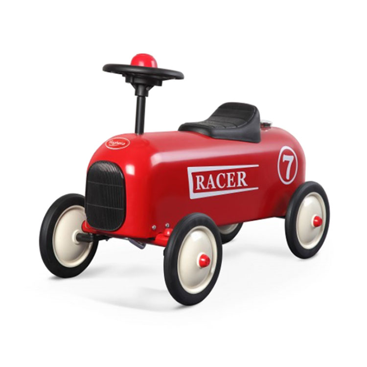 ماشین پایی فلزی کودک Baghera مدل Racer Red