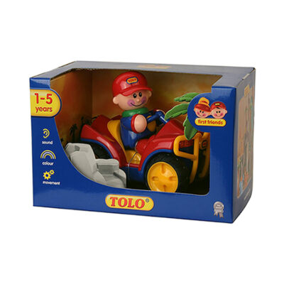 اسباب بازی Tolo مدل جیپ قرمز