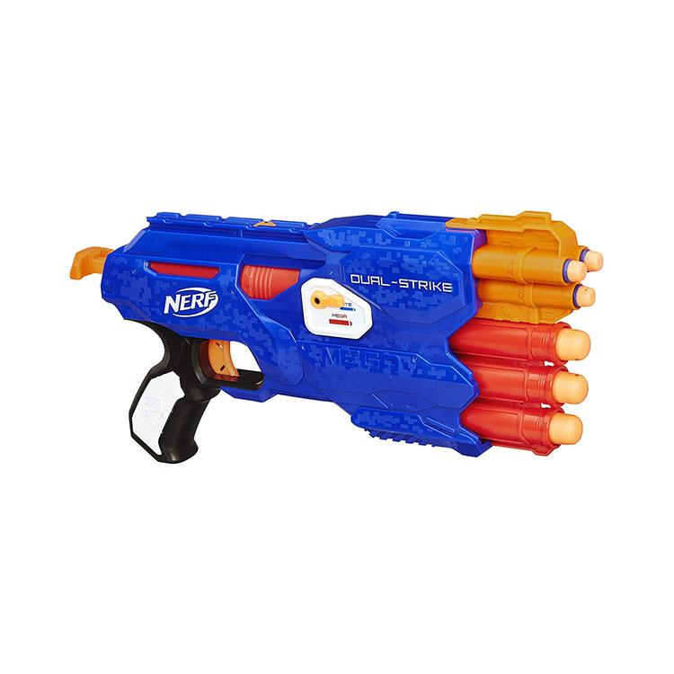 تفنگ Dual-Strike نرف با 2 حالت شلیک