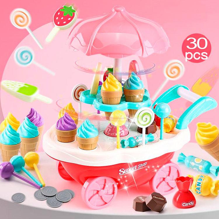 چرخ بستنی فروشی