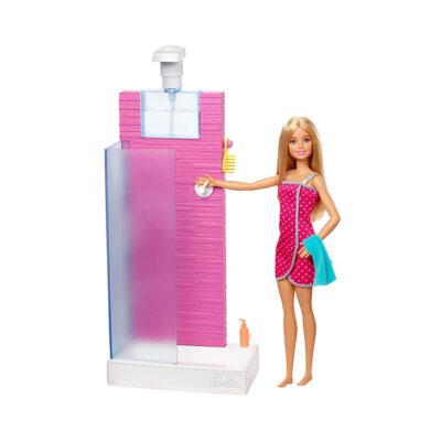 حمام عروسک باربی