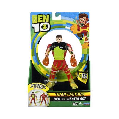 فیگور تبدیل شونده Ben 10 به Heatblast