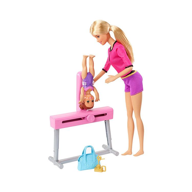 عروسک باربی مدل مربی ژیمناستیک
